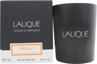 Lalique Candle 190g - Cuir Moscou