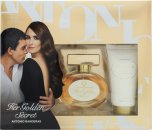 Antonio Banderas Her Golden Secret Gift Set 50ml EDT + 50ml Body Lotion