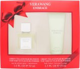 Vera Wang Embrace Green Tea & Pear Blossom Gift Set 30ml EDT + 75ml Body Lotion