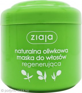 Ziaja Natural Olive Regenerating Mask 200ml - For Dry And Damaged Hair