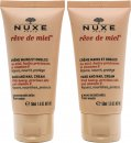 Nuxe Rêve De Miel Hand And Nail Cream Duo Gift Set 2 x 50ml Hand Creams