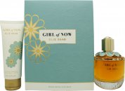 Elie Saab Girl of Now Gift Set 90ml EDP + 75ml Body Lotion