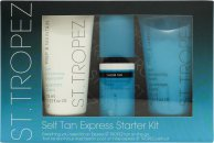 St. Tropez Express Starter Kit Gift Set 75ml Tan Enhancing Body Polish + 75ml Tan Enhancing Body Moisturiser + 50ml St. Tropez Classic Bronzing Mousse + Application Mitt