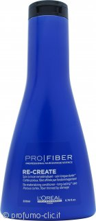 L'Oreal Pro Fiber Re-Create Conditioner 200ml - For Fine and Damaged Hair
