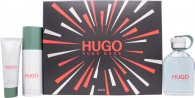 Hugo Boss Hugo Gift Set 125ml EDT + 50ml Shower Gel + 150ml Deodorant Spray