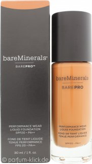 bareMinerals BarePro Performance Wear Liquid Foundation LSF20 30ml - 27 Cappuccino