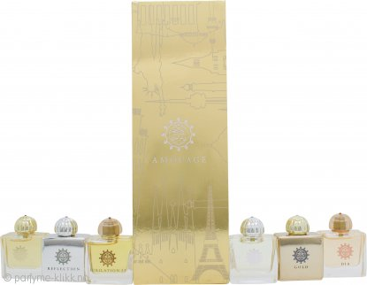 Amouage Classic Collection Woman Miniatyr Gavesett 6 Deler