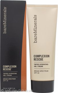 bareMinerals Complexion Rescue Tinted Hydrating Gel Cream SPF30 70ml - Chestnut