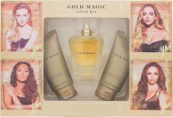 Little Mix Gold Magic Geschenkset 100ml EDP + 75ml Body Wash + 75ml Body Lotion