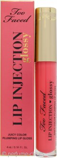 Too Faced Lip Injection Glossy Plumping Lip Gloss 4ml - Let's Flamingle