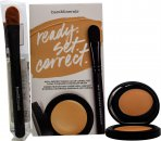 bareMinerals Ready Set Correct Gift Set 25ml Well Rested Cream Concealer Light Beige + Brush