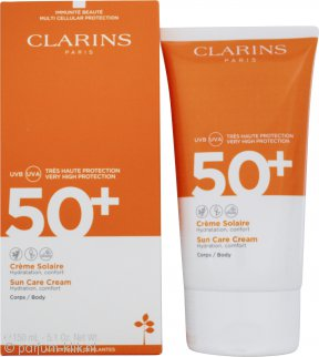 Clarins Sun Care Body Cream SPF50+ 150ml