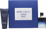 Jimmy Choo Man Blue Gift Set 50ml EDT + 100ml Shower Gel