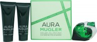 Thierry Mugler Aura Gift Set 50ml EDP + 50ml Body Lotion + 50ml Shower Gel