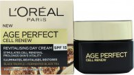 L'Oreal Age Perfect Cell Renew Day Cream 1.7oz (50ml)