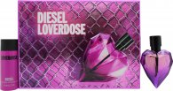 Diesel Loverdose Gift Set 30ml EDP + 50ml Body Lotion
