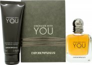Giorgio Armani Stronger With You Gift Set 50ml EDT + 75ml Shower Gel