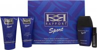 Dana Rapport Sport Gift Set 100ml EDT + 150ml A/Shave Balm + 150ml Shower Gel + 20ml Rapport EDT