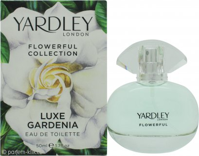 Yardley Luxe Gardenia Eau de Toilette 50ml Spray