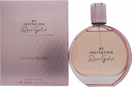 michael buble by invitation rose gold
