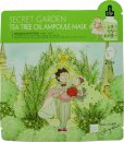 Sally's Box Secret Garden Tea Tree Oil Ampoule & Face Mask 21ml