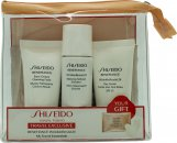 Shiseido Benefiance Travel Set 30ml Creamy Cleansing Foam + 30ml Enriched Balancing Softener + 30ml Wrinkle Resist 24 Daytime Cream