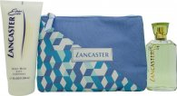 Lancaster Eau de Lancaster Gift Set 75ml EDT + 200ml Body Lotion + Beauty Bag