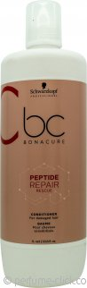 Schwarzkopf BC Bonacure Peptide Repair Rescue Conditioner 33.8oz (1000ml) - Damaged Hair