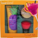 Love Island Bronzed Baby Gift Set 100ml Shimmer Body Lotion + 10g Bronzing Powder + Kabuki Brush