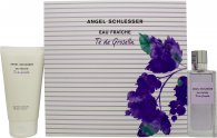 Angel Schlesser Eau Fraiche Té de Grosella Gift Set 3.4oz (100ml) EDT + 5.1oz (150ml) Shower Gel