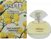 Yardley Decadent Mimosa Eau de Toilette 50ml Spray