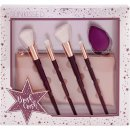 Sunkissed Brush Love Gift Set 4 x Make Up Brush +  Make Up Sponge + Make Up Bag