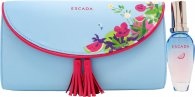 Escada Sorbetto Rosso Gift Set 30ml EDT + Clutch Bag