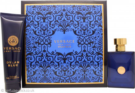 Versace Pour Homme Dylan Blue Gift Set 100ml EDT + 150ml Shower Gel