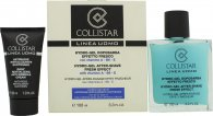 Collistar Linea Uomo Gift Set 100ml Hydro-Gel Aftershave Fresh Effect + 30ml Daily Protective Supermoisturizer