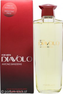 Antonio Banderas Diavolo For Men Eau de Toilette 200ml Spray