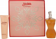 Jean Paul Gaultier Classique Gift Set 100ml EDT + 75ml Body Lotion (Christmas Set)