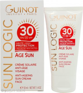 Guinot Sun Logic Anti-Ageing Sun Cream Face SPF30 50ml