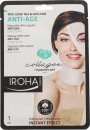 Iroha Nature Anti Age 100% Cotton Ansikt & Nakkemaske 1 x Maske