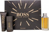 Hugo Boss Boss The Scent Gift Set 100ml EDT + 75ml Deo Stick + 50ml Shower Gel