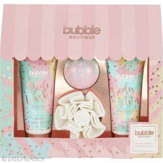 Style & Grace Bubble Boutique Gift of The Glow Set Regalo 4 Pezzi