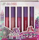 Q-KI Lip Gloss Gift Set 5 x 10ml Lip Gloss