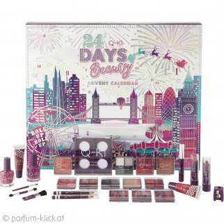 Q-KI 24 Days Of Beauty London Adventskalender, 26-teilig