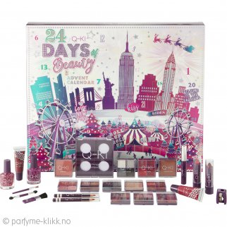 Q-KI 24 Days of Beauty New York Adventskalender 26 Deler