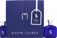 Ralph Lauren Polo Blue Gift Set 75ml EDT + 30ml EDT