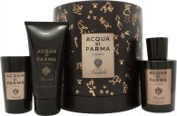 Acqua di Parma Colonia Sandalo Gift Set 3.4oz (100ml) EDC + 2.5oz (75ml) Shower Gel + 65g Candle