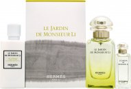 Hermès Le Jardin de Monsieur Li Gift Set 50ml EDT + 7.5ml EDT Mini + 40ml Body Lotion