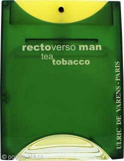 Ulric de Varens Rectoverso Man Tea Tobacco Eau de Toilette 100ml Spray