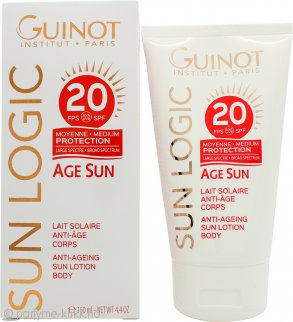 Guinot Sun Logic Anti-Ageing Sun Kroppsmelk SPF20 150ml