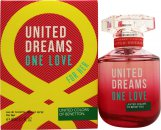 Benetton United Dream One Love Eau de Toilette 80ml Spray
